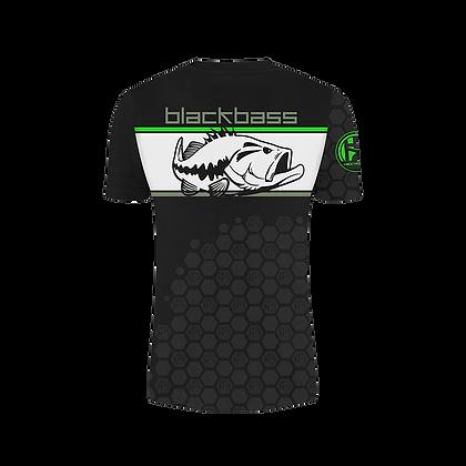 t-shirt black bass