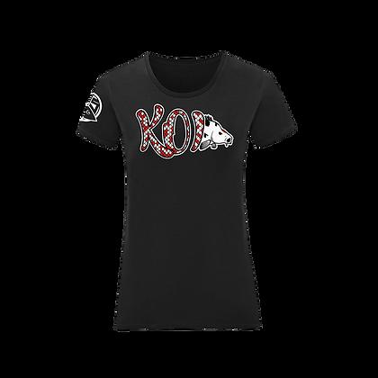 T-Shirt Koi Frau