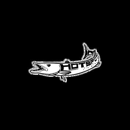 Aufkleber Barracuda cm 60x30