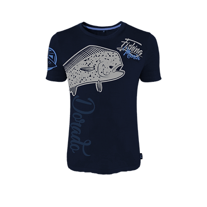 T-shirt Fishing Mania Dorado