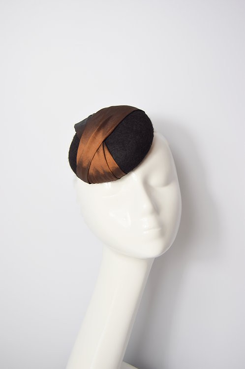 Caroline: Pillbox Hat (Various Colours)