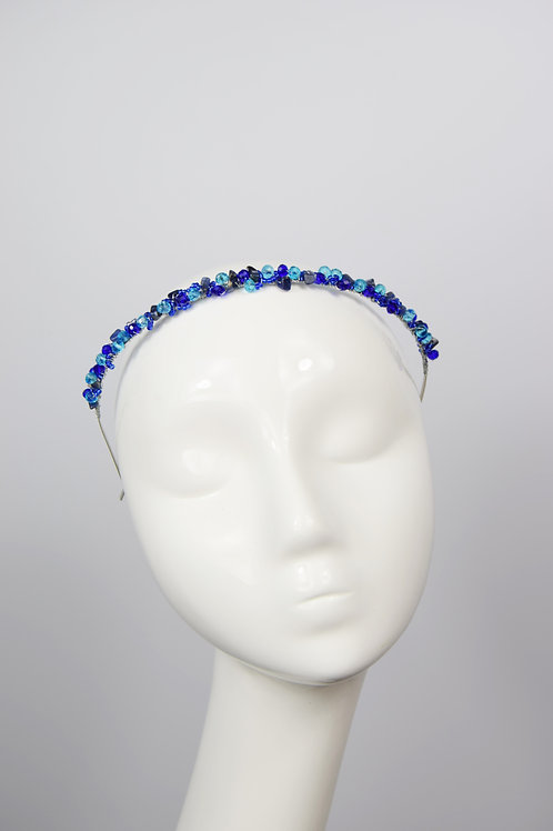 Theia Tiara, Blue Sodalite