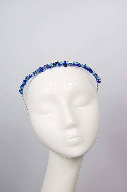 Theia Tiara, Blue Sodalite