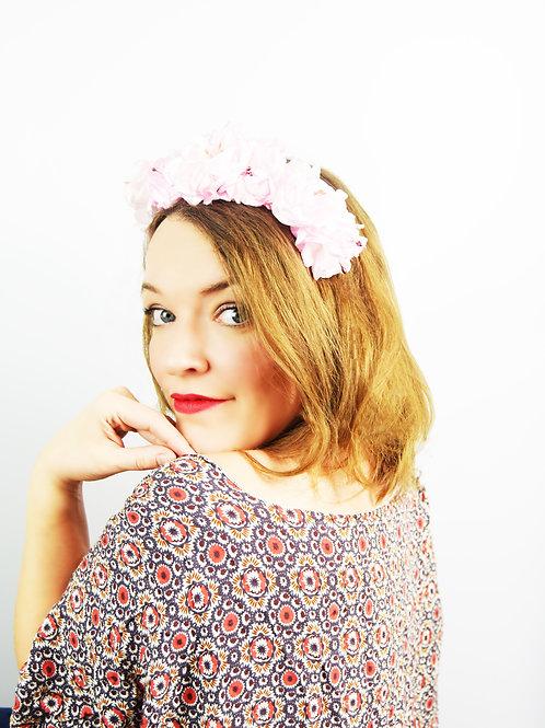 Florita: Pastel Pink Floral Crown