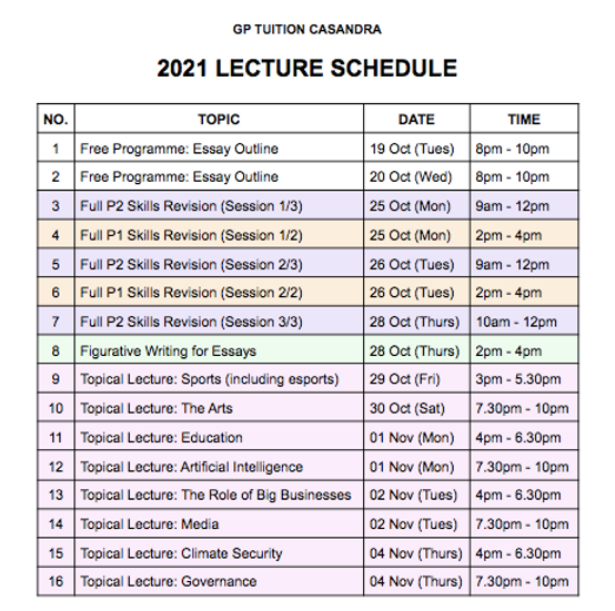 Oct & Nov 21 - Lecture Schedule (updated).png