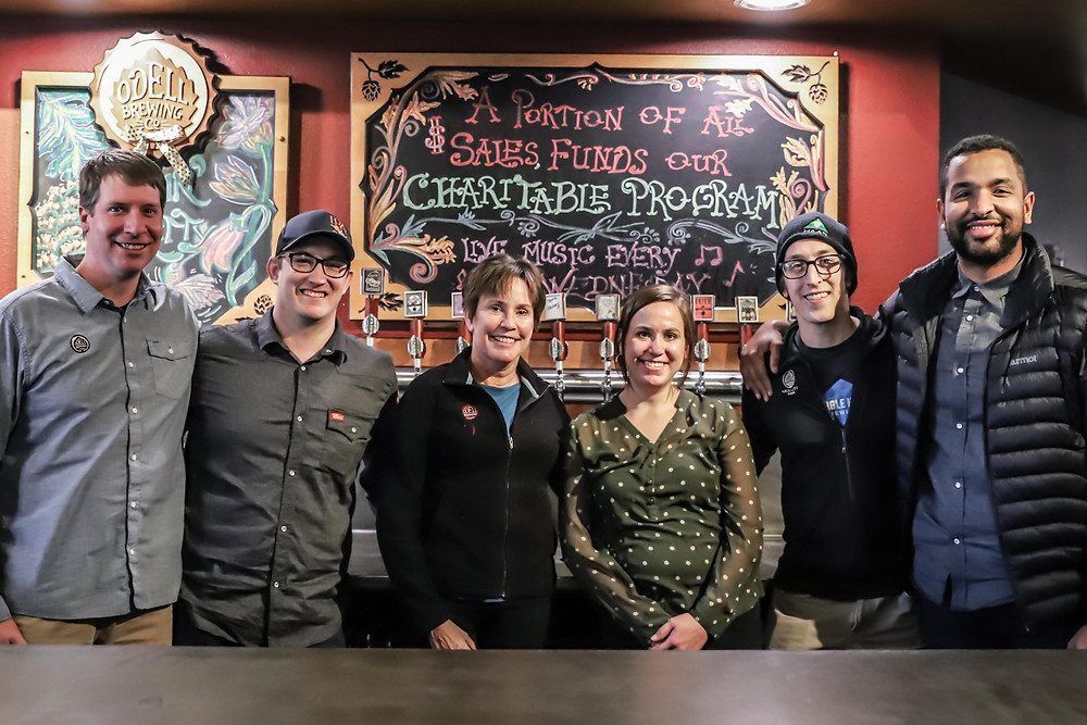 In 2015, Odell Brewing became an Employee Stock Ownership Plan company, helping further foster a sense of inclusivity and employee investment.