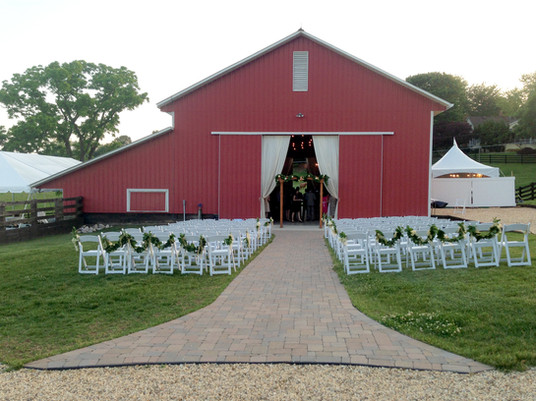 Robin Hill Wedding Barn Entrance