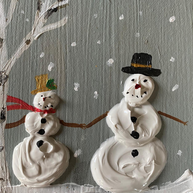 Snowpeople in Love