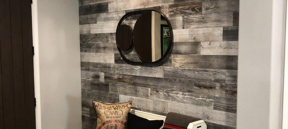 Sandpiper Interior Siding Accent Wall