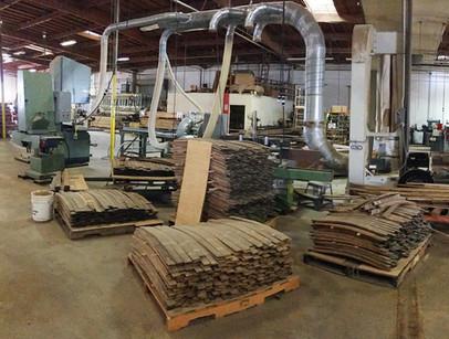 Sanded Wine Barrel Wood