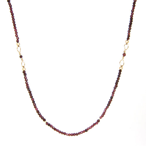 Garnet Octavia necklace