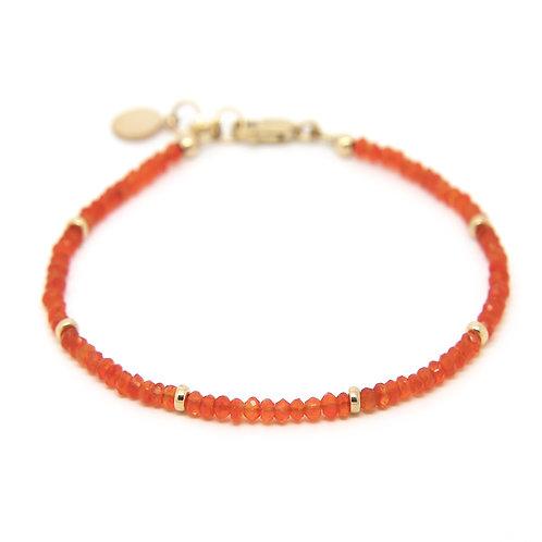 Carnelian Portia bracelet
