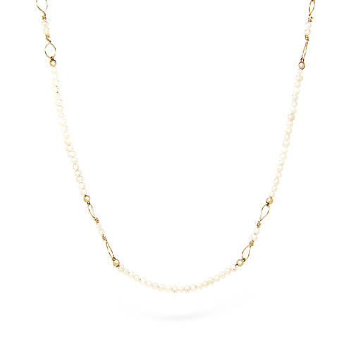 Freshwater Pearl Octavia necklace