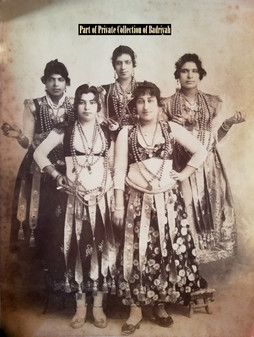 Egyptian Dancers by Lekegian