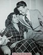 Samia Gamal with her husband #1