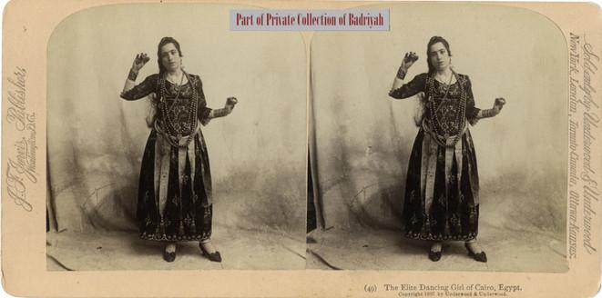 The Elite Dancing Girl of Cairo, Egypt