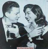 Samia Gamal with her husband #2