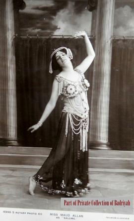 Maud Allan as Salomé #1