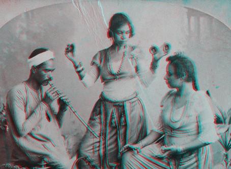 19th Century Bellydancers in 3D