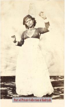 Egypte, danseuse