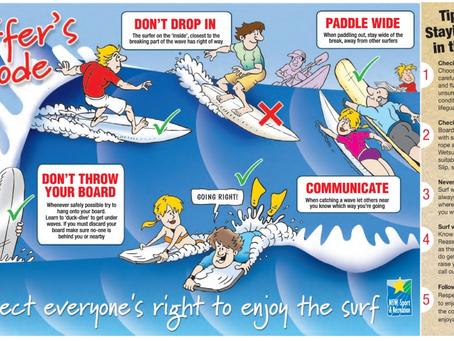 חוקי הים, חוקי הגולשים