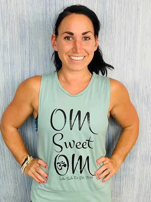Om Sweet Om Muscle Tank