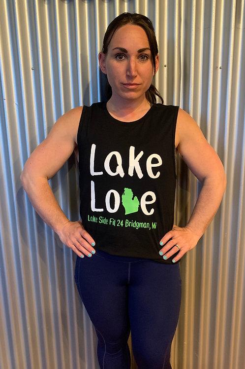 Lake Love Muscle tank