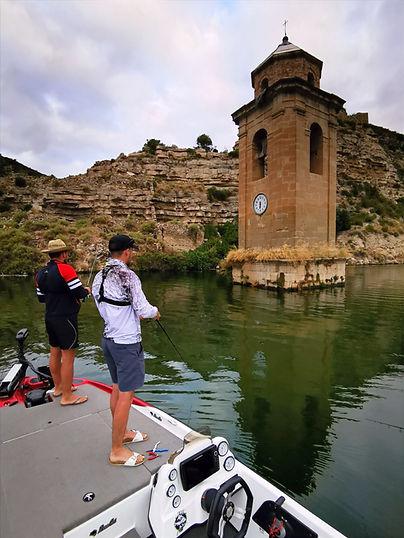 guide pêche fayon clocher mequinenza