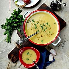Sorbat Addes (Lentil Soup)