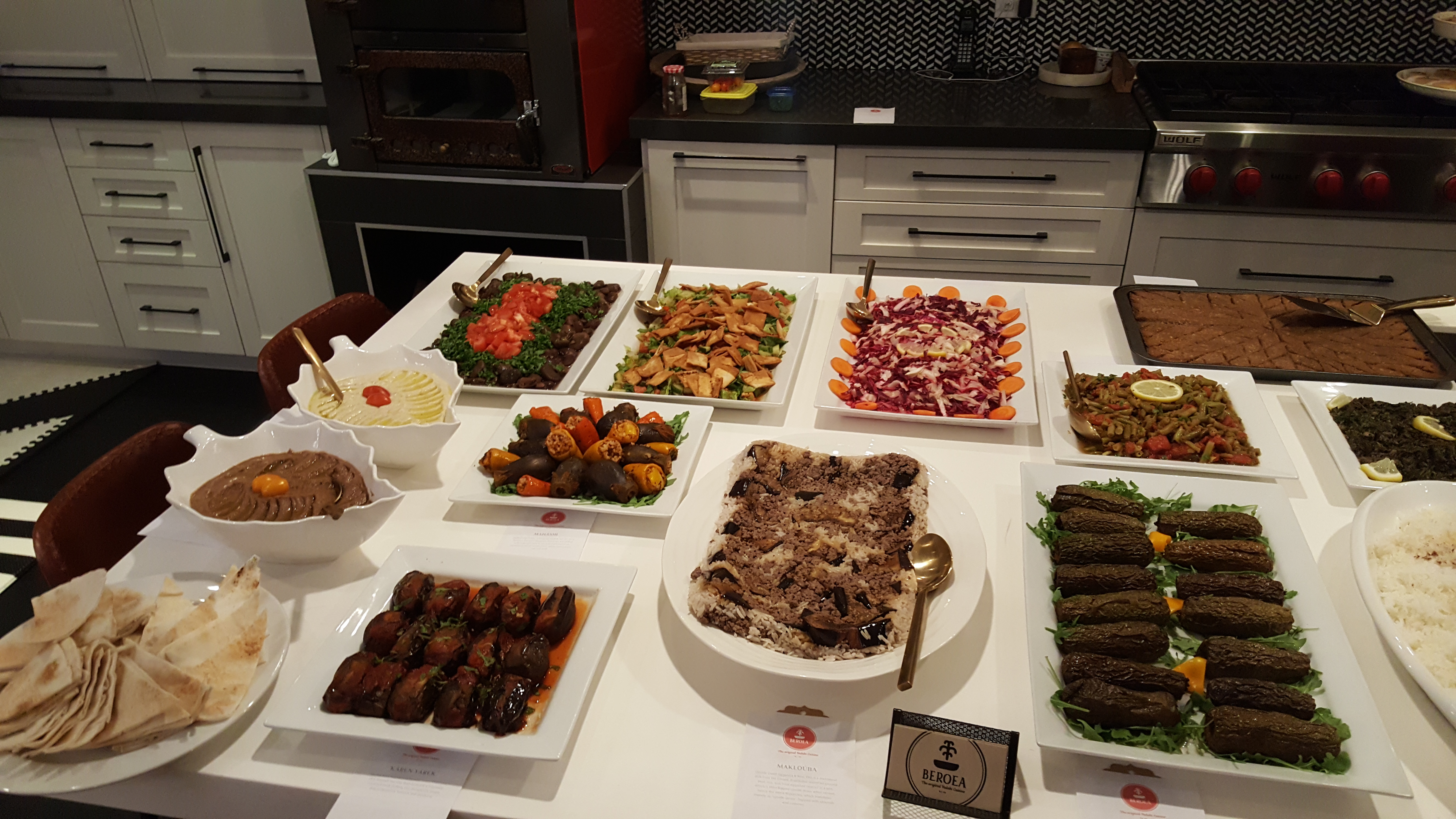 Gallery | Syrian catering in toronto | Ontario | Beroea Kitchen
