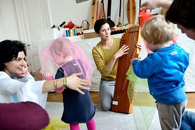 Matilde Castro geeft een Luistergoed cursus voor peuters