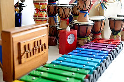Instrumenten Luistergoed baby- en dreumescursus