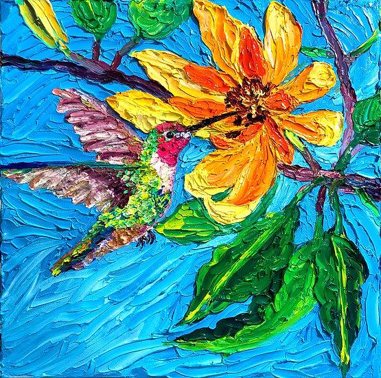 """Sweet Magnolia"" Fine Art Print"