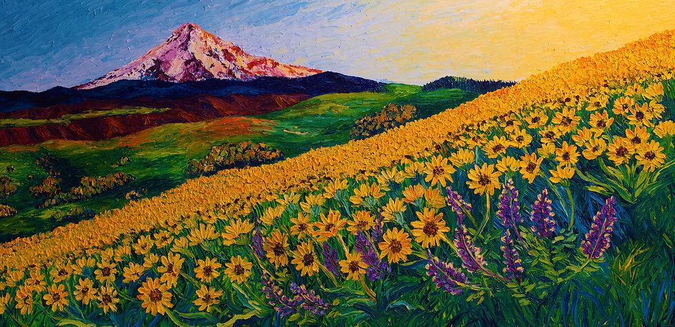 """Sun-kissed Super Bloom"" Fine Art Print"