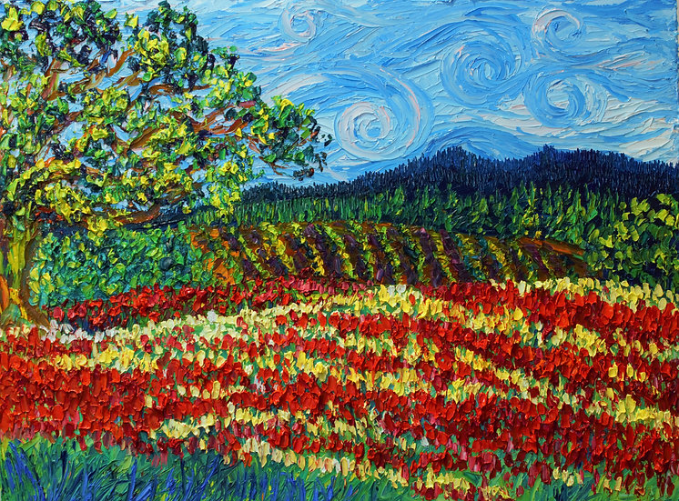 Crimson Clover Fields