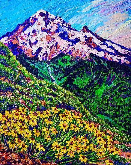 """Sunshine Blooms"" Fine Art Print"