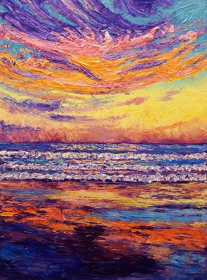 """Yachats Sky"" Fine Art Print"