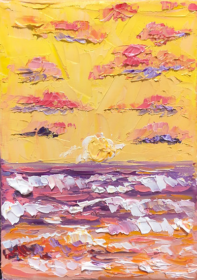 """Summer Sunset"""