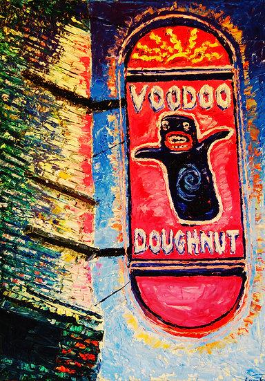 """""""Sacred Voodoo """"Fine Art Print"""