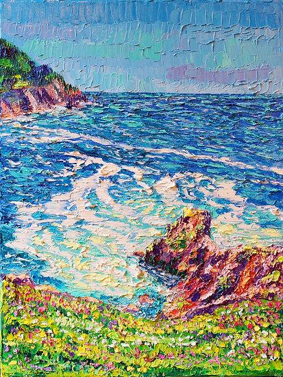 """""""Hikes at Cape Falcon"""" Fine Art Print"""