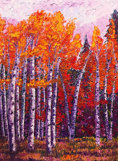 """Fall Aspens"" Fine Art Print"