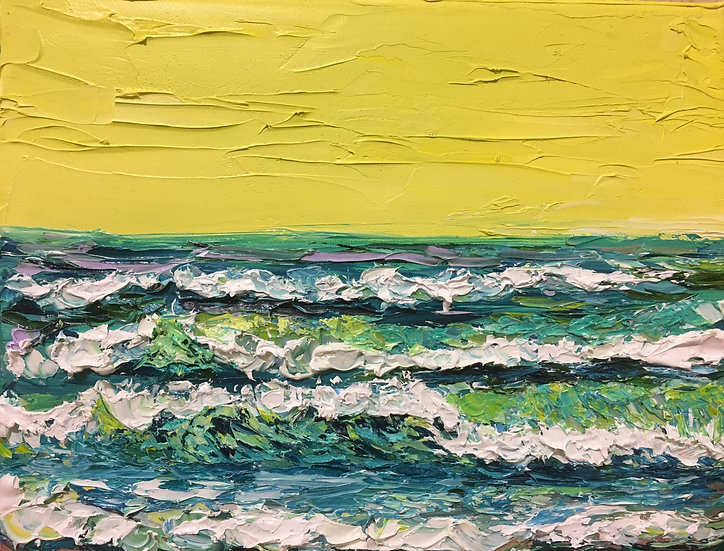 """Sherbet Lime Horizon"""