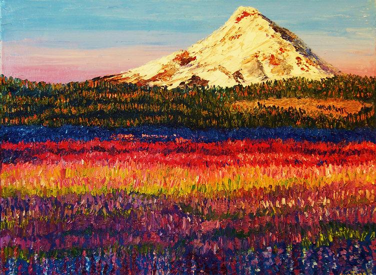 """Lavender Fields"" Fine Art Print"