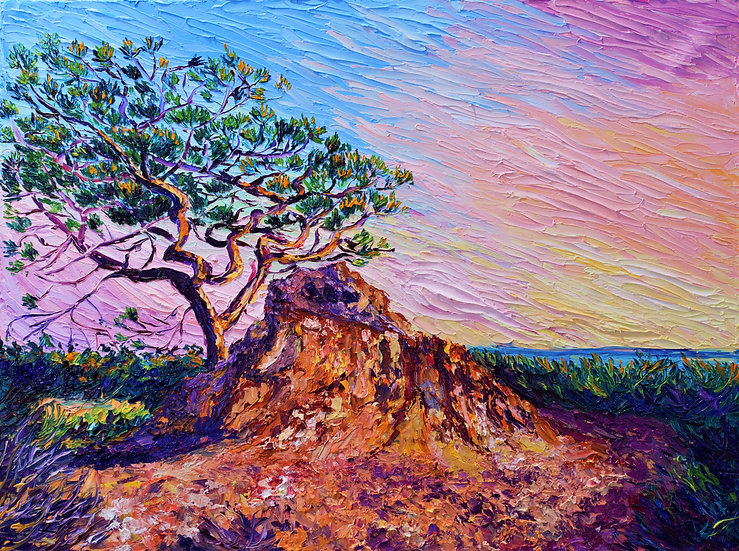 """Red Rock Pine"" Fine Art Print"