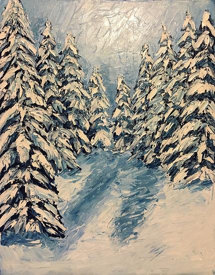 """Winter Pines"""