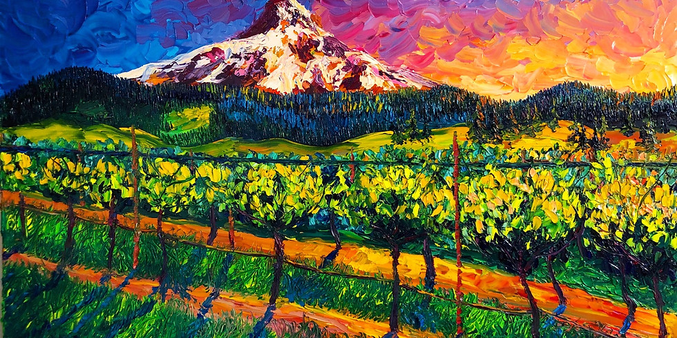 SOLO Exhibition at Mt. Hood Winery