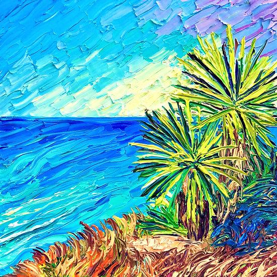 """Torrey Palms"" Fine Art Print"