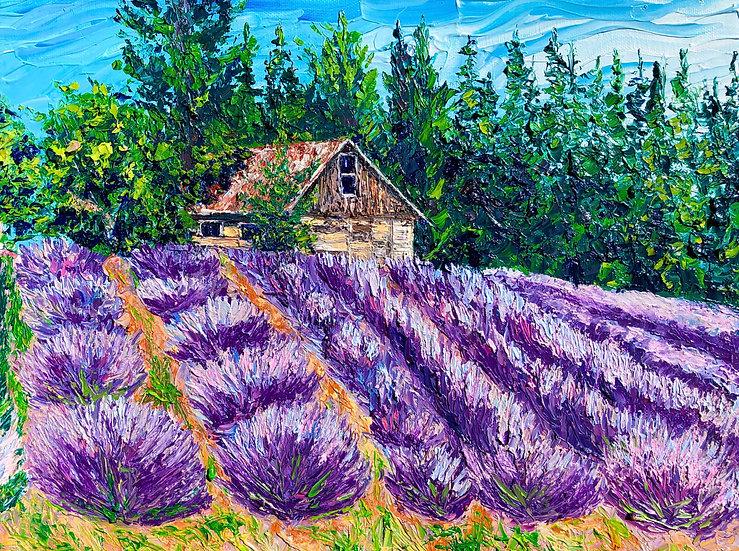 """Fragrant Fields"" Fine Art Print"