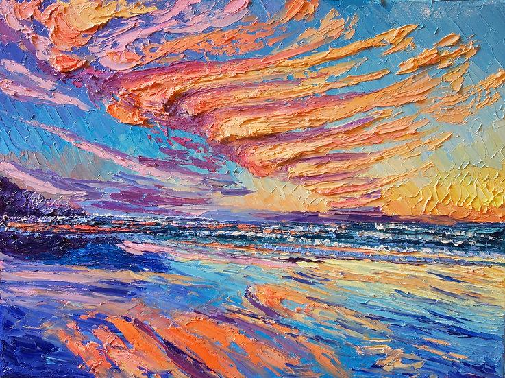 """Shoreline Sunsets"" Fine Art Print"