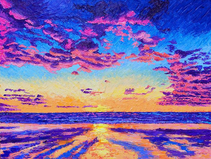 """Dancing Skies"" Fine Art Print"